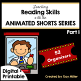Teaching Reading and Writing Skills with Animated Shorts Pt 1 Digital+Printable