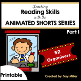 Teaching Reading and Writing Skills with Animated Shorts Pt 1 Printable