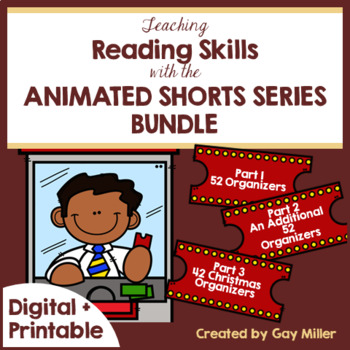 Teaching Reading and Writing Skills with Animated Shorts Digital Bundled
