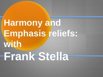 Teaching Reliefs: Harmony & Emphasis with Frank Stella