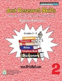 Teaching Research Skills Worksheets - Language Arts - FULL YEAR