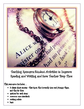 Teaching Resource/Student Activities to Improve Reading and Writing & Save Time