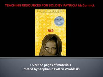 Teaching Resources for Sold by Patricia McCormick