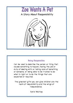 Teaching Responsibility - Zoe Wants A Pet