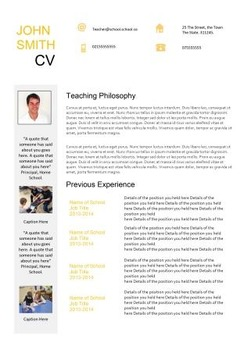 Teaching Resume 20 page guide and 2 sample CV Templates