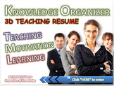Teaching Resume: Knowledge Hyperlinked Organizer