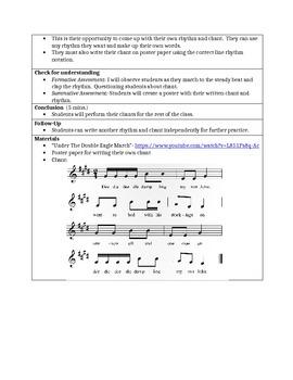 Deedle Deedle Dumpling- teaching rhythm elementary music lesson