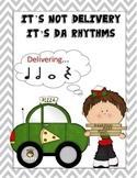 Music Rhythms: It's Not Delivery, It's Da Rhythms