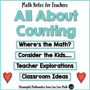 Rote Counting Teaching Resources | Teachers Pay Teachers