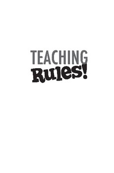 Teaching Rules!