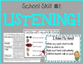 Teaching School Skills