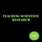 Teaching Scientific Research