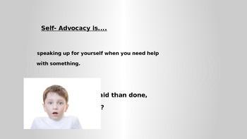 Teaching Self Advocacy
