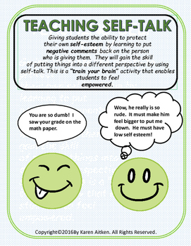 Teaching Self-Talk