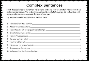 Teaching Sentence Structure through Harry Potter