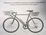 Teaching Sentence Structure with a Bicycle Metaphor