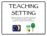 Teaching Setting, Gr. 2-4