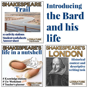 Teaching Shakespeare Bundle
