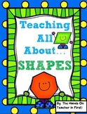 Teaching Shapes: 2D and 3D Shape Posters and Activities