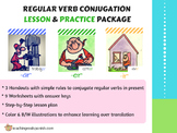 Teaching Simple Present Conjugation – AR, ER, IR
