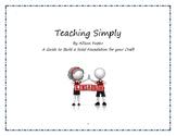 Teaching Simply