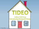 "Teaching Sixteenth Notes with the Song ""Tideo"""