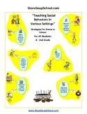 Teaching Social Behaviors - Visual Aids - AS Autism , ADHD