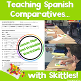 Teaching Spanish Comparatives (los comparativos) with Skittles