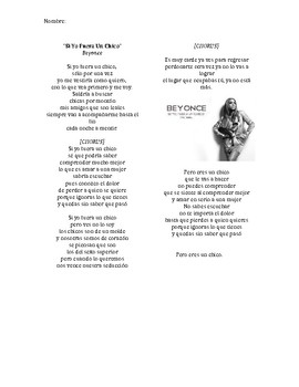 Teaching Spanish Conditional Tense with Beyonce!