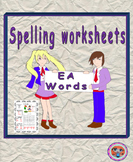 Teaching Spellings EA Words