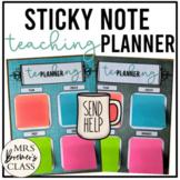 Sticky Note Planner