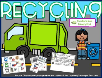 Teaching Strategies Gold Recycling Anchor Chart