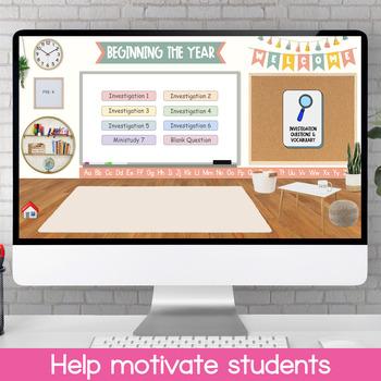 Teaching Strategies BEGINNING THE YEAR Study – Investigation Q's & Vocabulary