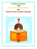 Teaching Strategies For Learning Challenged Students