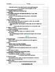 EDITABLE -Teaching Strategies GOLD Checklist - Green Band (3-4 years)