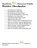 Teaching Strategies GOLD® Checklist for October Checkpoint