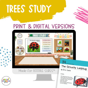 Teaching Strategies Gold - 14 The Grouchy Ladybug - Book Discussion Card