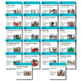 Teaching Strategies Gold BUNDLE- 22 Book Discussion Card Supplements- 6 STUDIES!