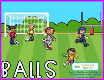 Teaching Strategies Gold Balls Anchor Charts