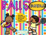 BUNDLE Teaching Strategies Gold Balls Anchor Chart and Word Cards