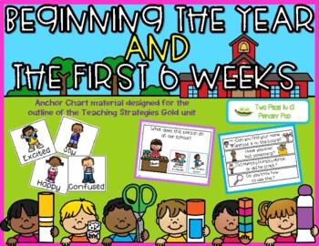 Teaching Strategies Gold Beginning the Year Anchor Chart