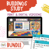 Book Cards for - BUILDINGS - BUNDLE! Creative Curriculum Teaching Strategies
