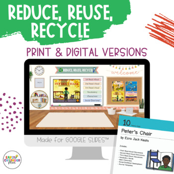 Teaching Strategies Gold - Book Discussion Cards for RECYCLE STUDY - BUNDLE!