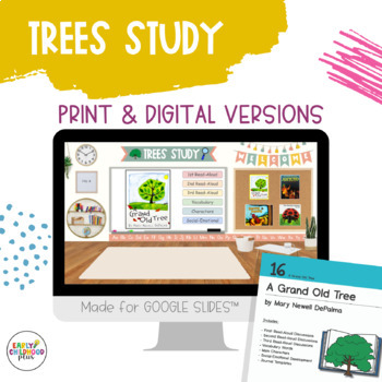 Teaching Strategies Gold - Book Discussion Cards for the TREES STUDY - BUNDLE!