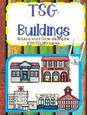 Teaching Strategies Gold Buildings word cards for IKEA TOLSBY frames