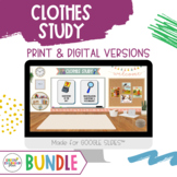 Creative Curriculum CLOTHES STUDY - BUNDLE Teaching Strategies Gold