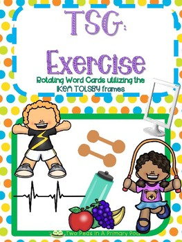 Teaching Strategies Gold Exercise Word Cards By Two Peas In A Primary Pod