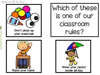 Teaching Strategies Gold Getting Ready for Kindergarten Anchor Chart