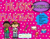 BUNDLE  Teaching Strategies Gold Music Making Anchor Chart and Word Cards