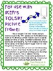 Teaching Strategies Gold Recycling Writing Prompt Cards for IKEA TOLSBY frames